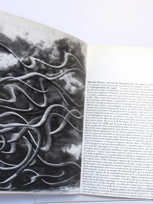 Hantaï. Catalogue d'exposition 1976. Pages intérieures. Livre d'occasion.