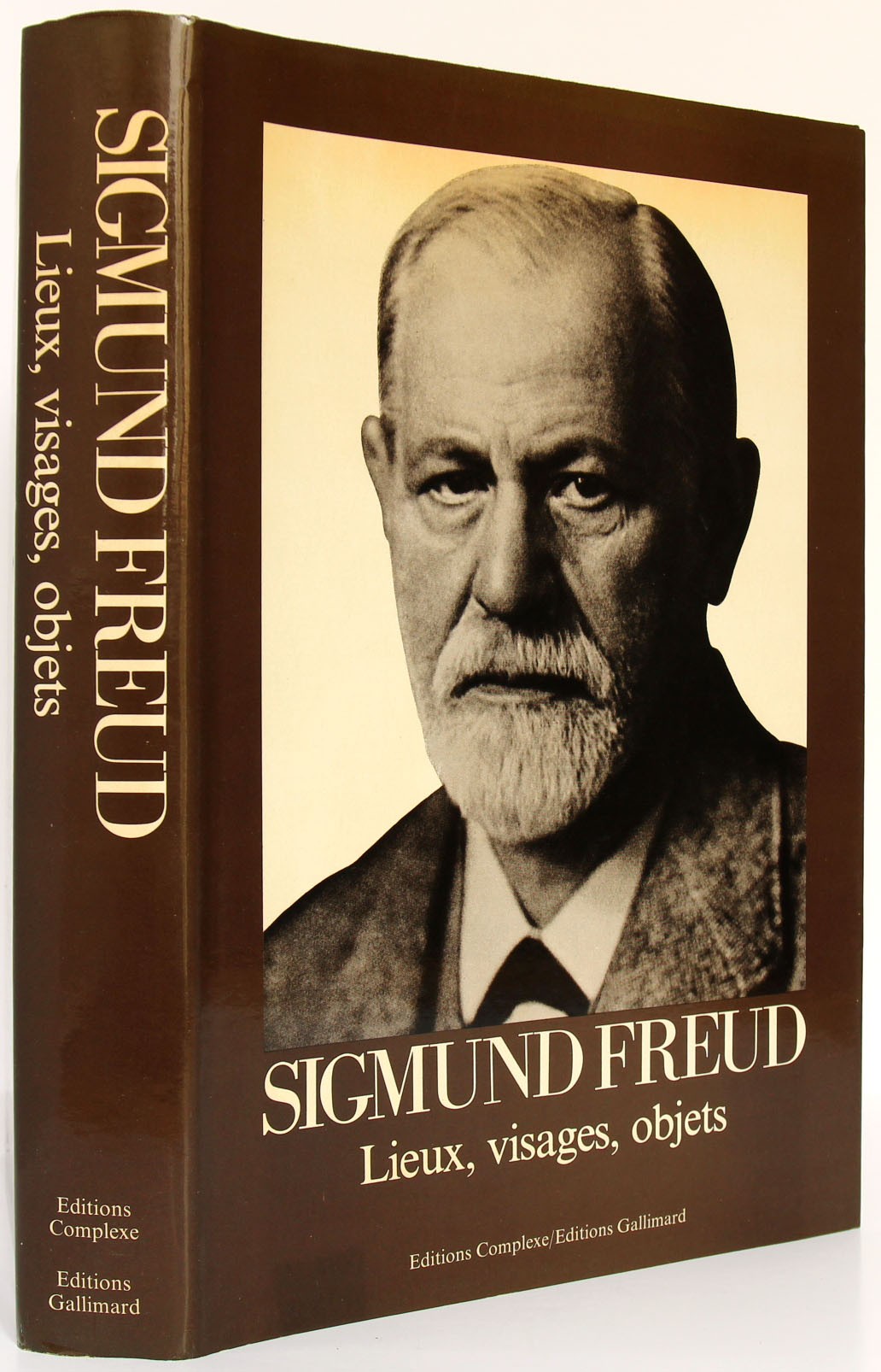Freud Lieux, visage, objets. Livre d'occasion.
