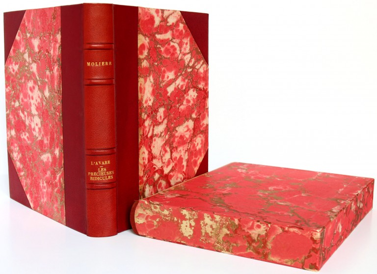 Molière. L'Avare, Les Précieuses ridicules. Livre ancien. 1955.