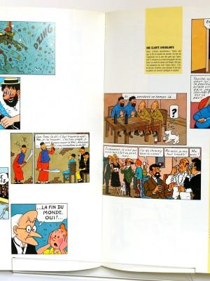 Hommage à Hergé. Fondation Joan Miro. Livre d'occasion. Pages intérieures.