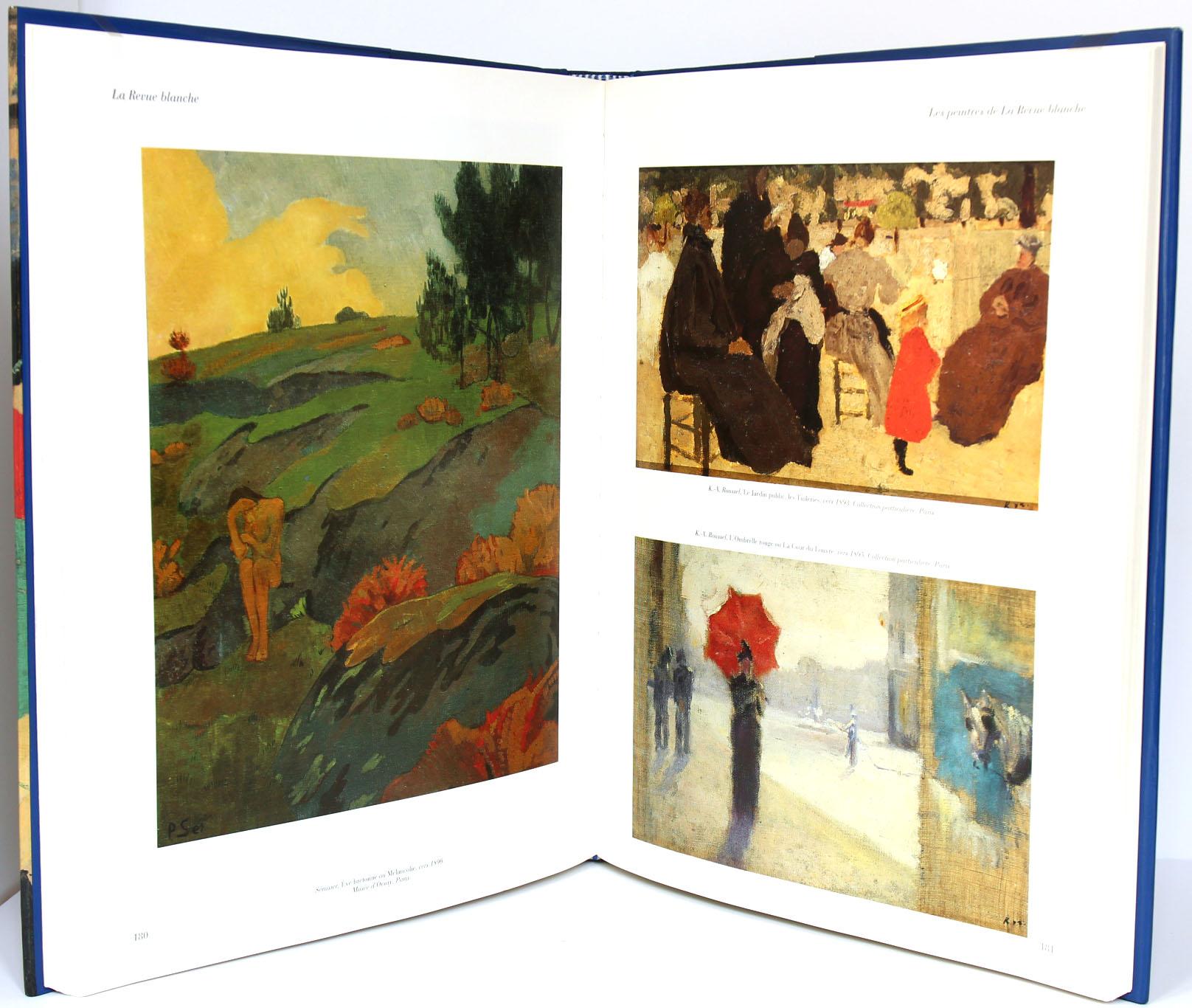 La Revue blanche. Pages intérieures. Livre d'occasion. 1991.