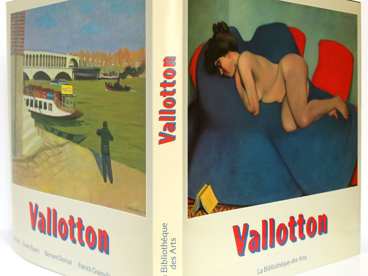 Livre : Vallotton, BUSH Günter, DORIVAL Bernard, GRAINVILLE Patrick, JAKUBEC Doris. La Bibliothèque des Arts