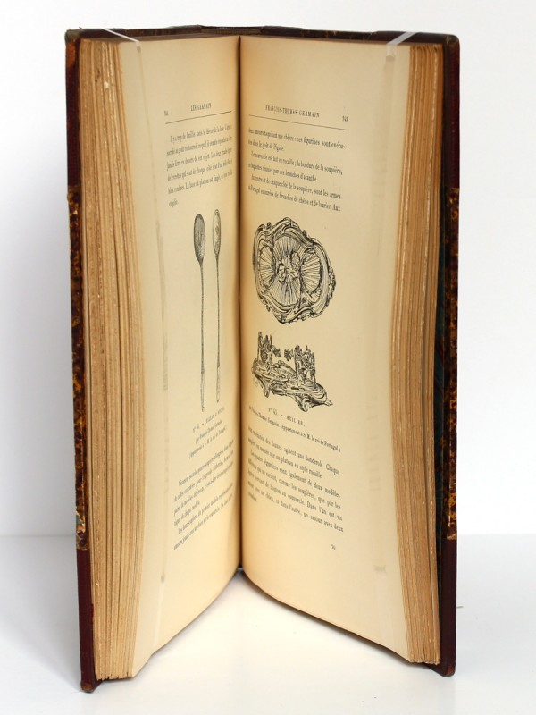 Les Germain, orfèvres-sculpteurs du Roy. G. Bapst. 1887. Pages intérieures.