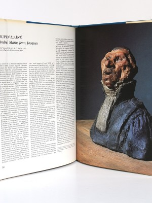 Daumier Les bustes des parlementaires. Edita-Vilo 1980. Pages intérieures.