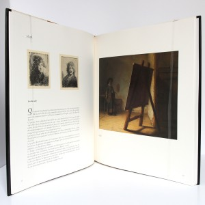 Rembrandt, autoportrait. Pascal Bonafoux. Skira 1985. Pages intérieures.