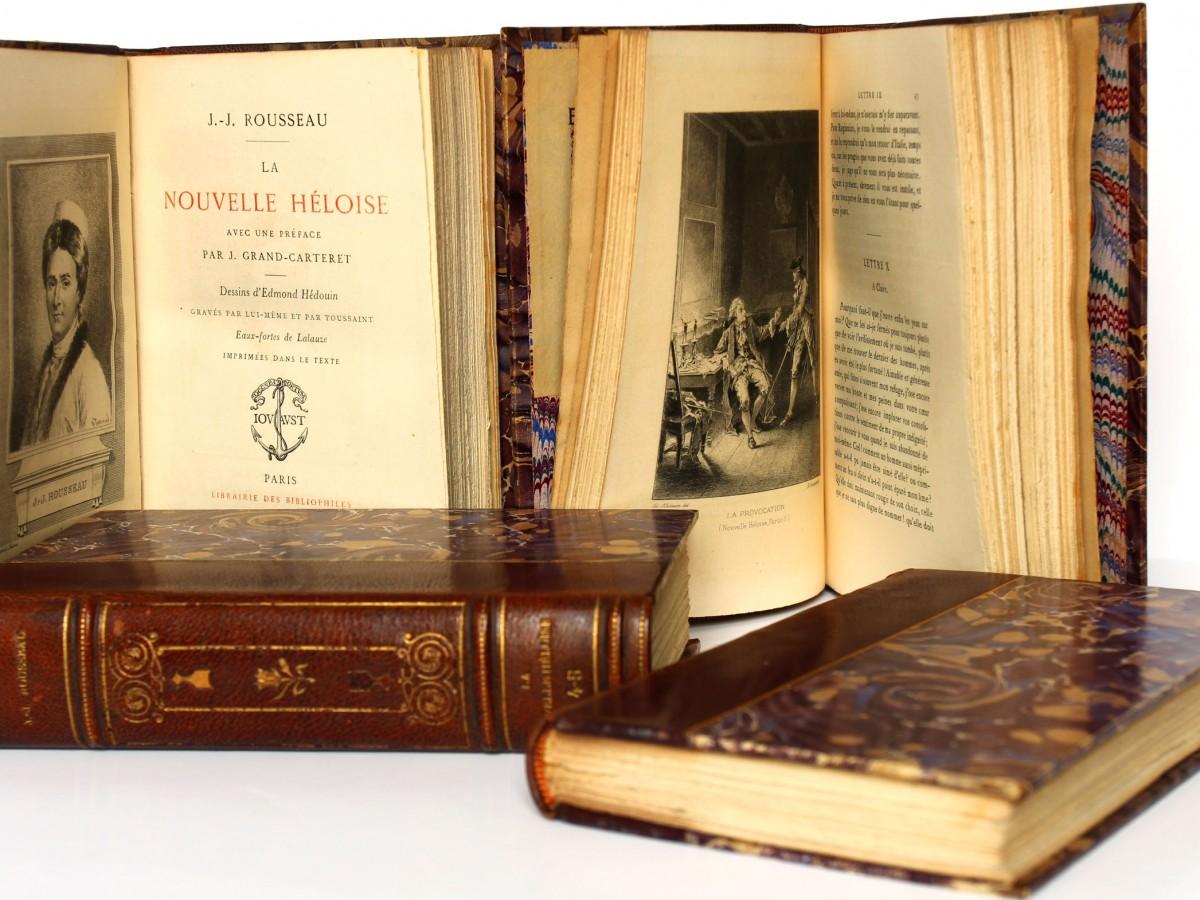 La Nouvelle Héloïse Jean-Jacques Rousseau. Jouaust 1889. Pages intérieures.