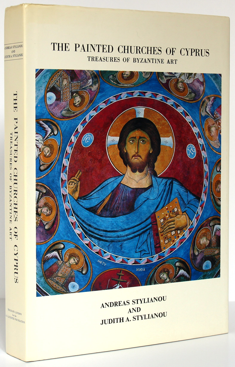 The Painted Churches of Cyprus. Treasures of Byzantine Art. A. and J.A. Stylianou. 1985. Couverture.