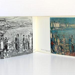 Cottavoz. Galerie Kriegel 1971. Texte de Frédéric Dard. Pages intérieures.