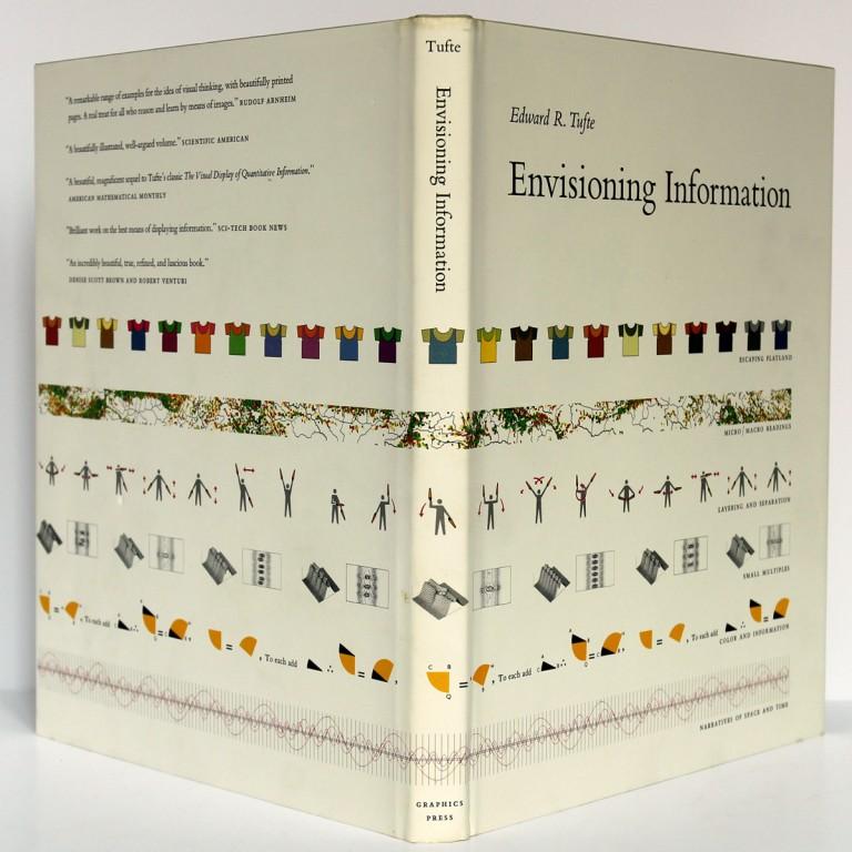 Envisioning Information. Tufte. Graphics Press 1992. Dos et couverture.