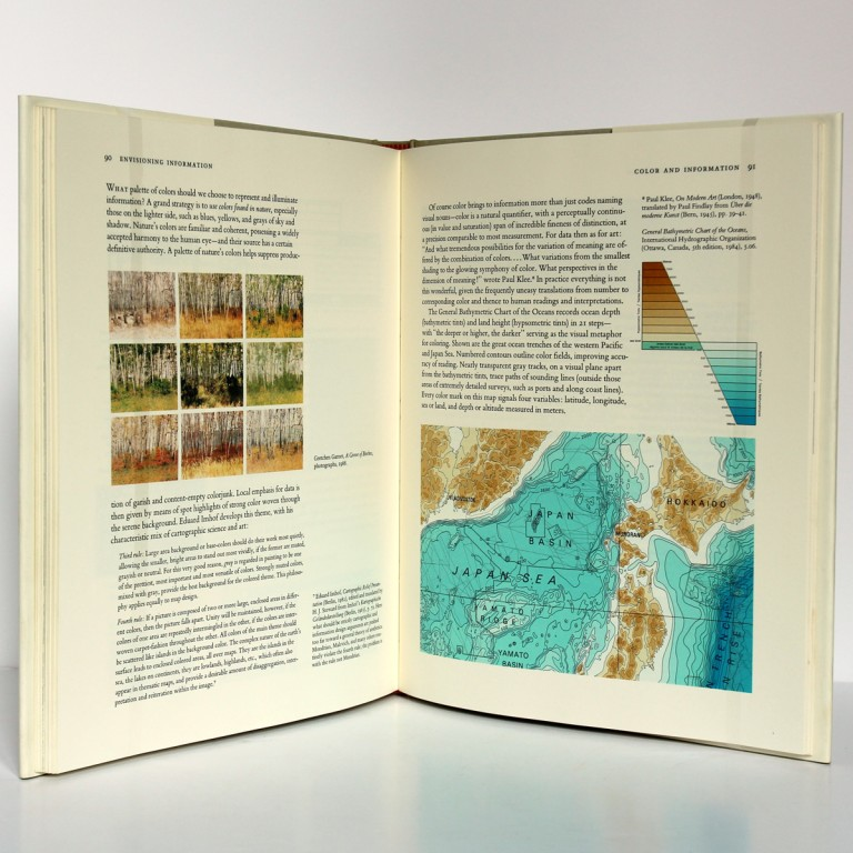 Envisioning Information. Tufte. Graphics Press 1992. Pages intérieures_2.