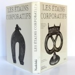 Les étains corporatifs. Nadolski. Nouvelles Éditions Latines 1989. Jaquette, couverture et dos.