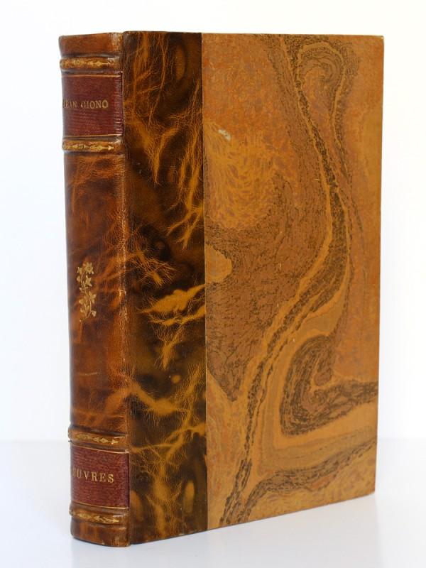 Giono. Le Serpent d'étoiles. Que ma joie demeure. Ferenczi. 1937/39. Reliure.