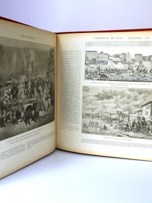 Histoire contemporaine par l'image 1789-1872. Armand Dayot. Pages intérieures.