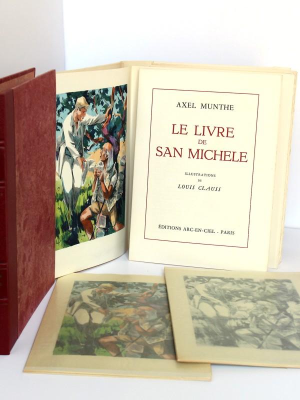 Le Livre de San-Michele. Axel Munthe. Éditions Arc-en-Ciel 1952. 2 volumes. Volume 2.