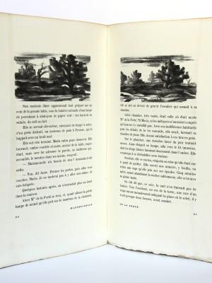 Mademoiselle de la Ferté. Pierre Benoit. H. Desoer. 1926. Pages intérieures_1.