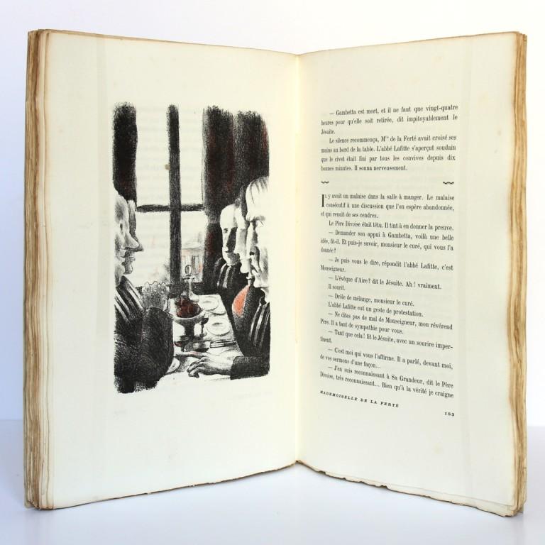 Mademoiselle de la Ferté. Pierre Benoit. H. Desoer. 1926. Pages intérieures_2.
