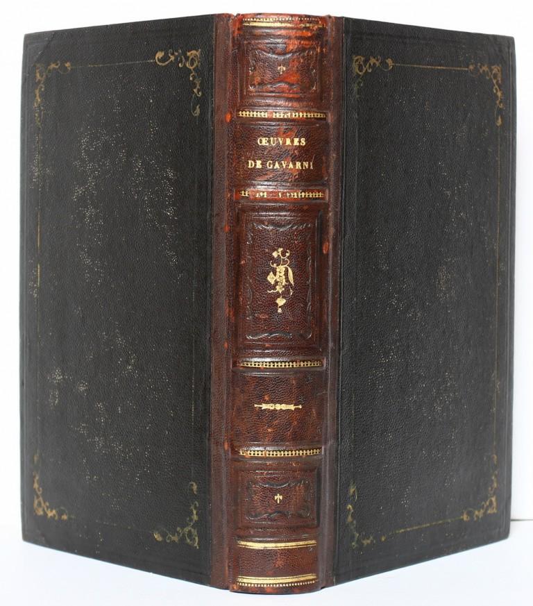 Œuvres choisies de Gavarni. Hetzel 1846. Reliure.
