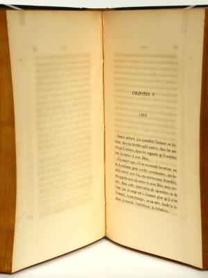 La Nature humaine. Jean-Félix Nourrisson. Librairie académique Didier & Cie. 1865. Pages intérieures.