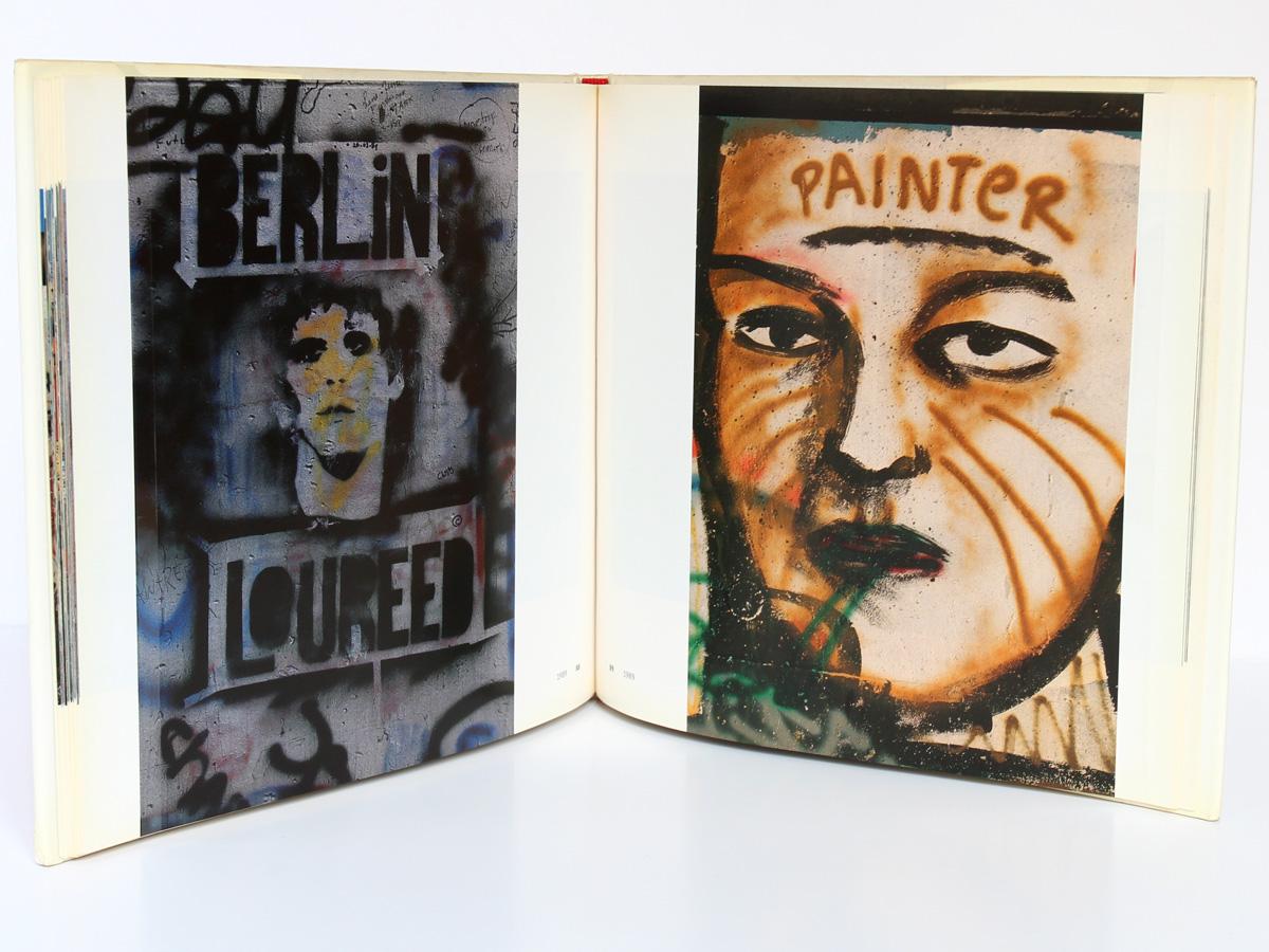 Berlin Art libre sur le mur, Hermann Waldenburg. Herscher, 1990. Pages intérieures.