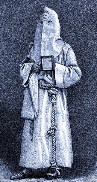 Frère de la Miséricorde. Toscane, 19e siècle.