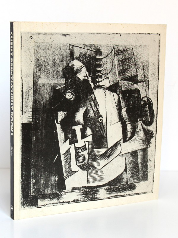 Cubist Prints / Cubist Books. Edited by Donna STEIN. Franklin Furnace 1983. Couverture.