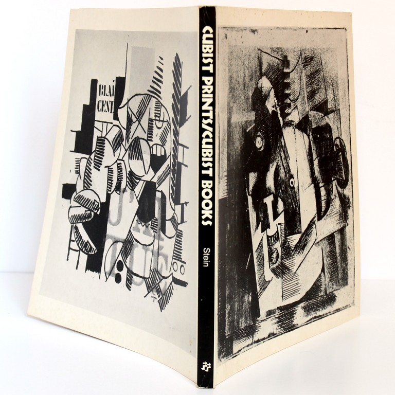 Cubist Prints / Cubist Books. Edited by Donna STEIN. Franklin Furnace 1983. Couverture et dos.
