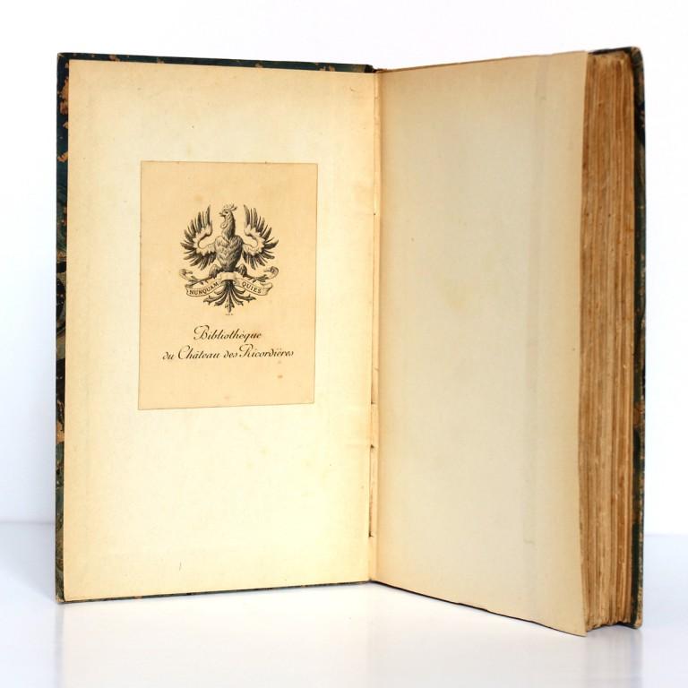 La Mort de Philae. Pierre Loti. Calmann-Lévy 1908. Ex-libris.