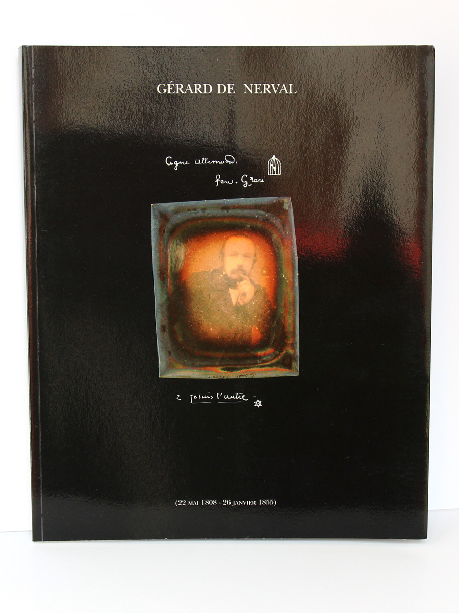 Gérard de Nerval Exposition Mairie de Paris 1996. Éric Buffetaud. BHVP 1996. Couverture.