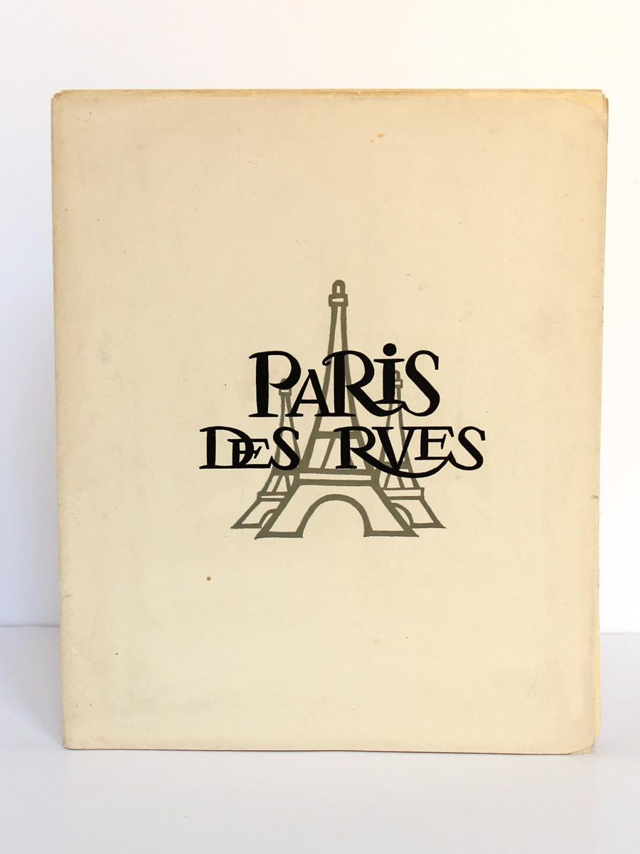 Paris des rues Les petits métiers de Paris. C.-H. Rocquet, illustrations Bernard Ducourant. Éditions Paul Guerin 1954. Couverture.