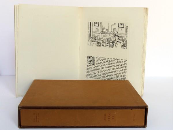 Le Père Goriot. Balzac. Eaux-fortes de Charles Genty. Éditions Littéraires de France 1946. Pages intérieures 1.