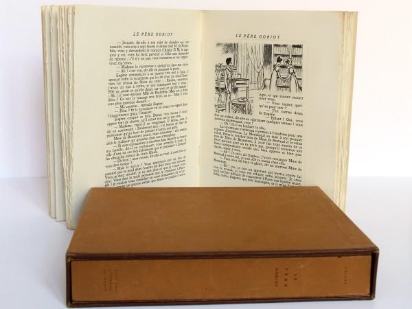 Le Père Goriot. Balzac. Eaux-fortes de Charles Genty. Éditions Littéraires de France 1946. Pages intérieures 3.