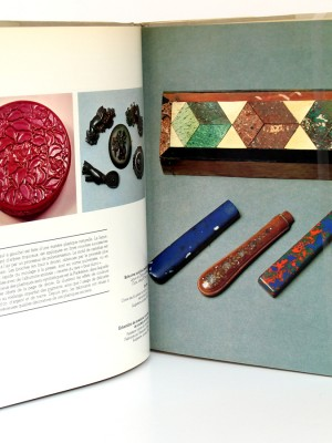 Les plastiques De la bakélite au high-tech, Sylvia Katz. Denoël, 1985. Pages intérieures 1.