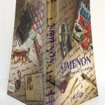 Simenon L'homme, l'univers, la création. Éditions Complexe 2002. Couvertures et dos.