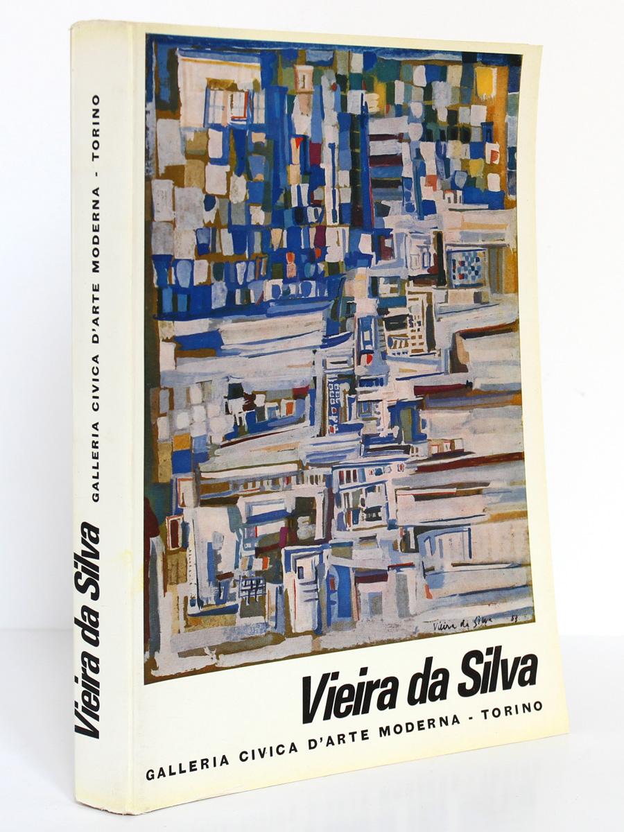 Vieira da Silva. Exposition Museo civico di Turino 1964. Couverture.