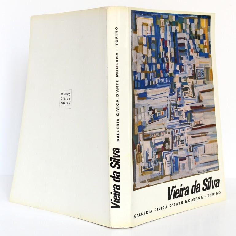 Vieira da Silva. Exposition Museo civico di Turino 1964. Couverture et dos.