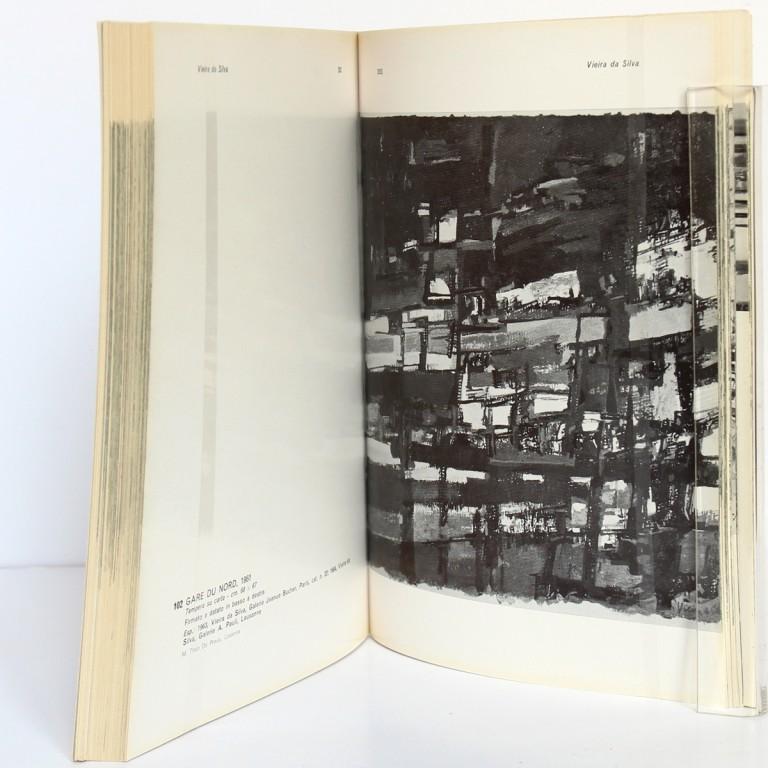 Vieira da Silva. Exposition Museo civico di Turino 1964. Pages intérieures 2.