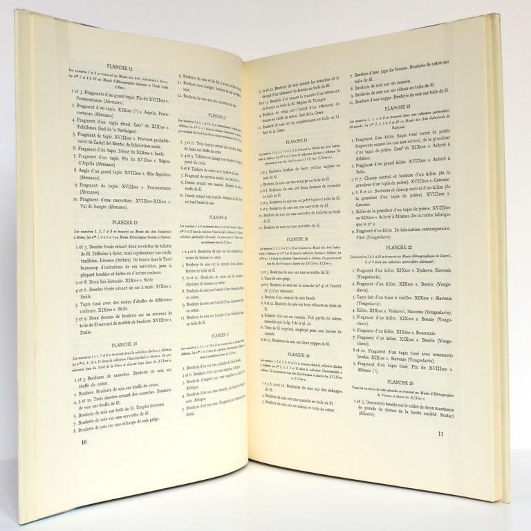 L'Art populaire en Europe Tissus Tapis Broderies, H. Th. Bossert. Éditions Albert Morancé, sans date. Pages intérieures 1.