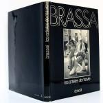 Les Artistes de ma vie, Brassaï. Denoël, 1982. Couvertures : dos et plats.