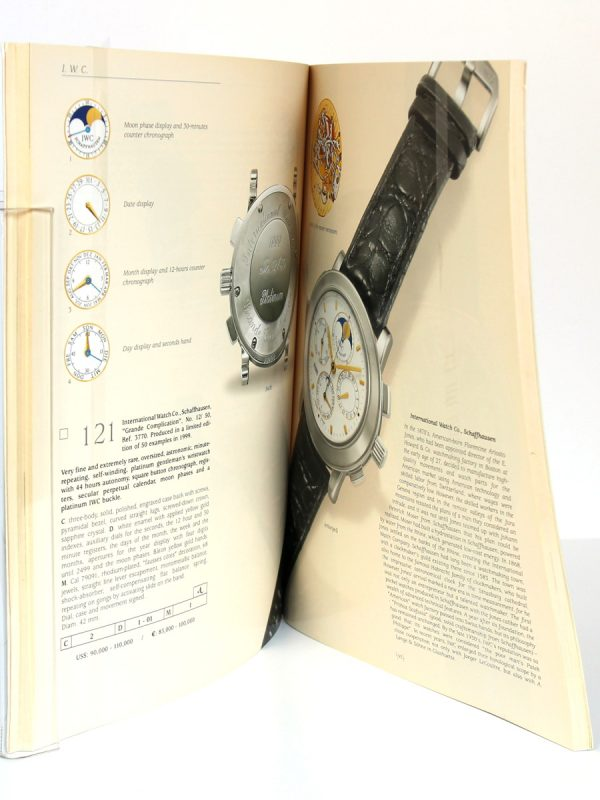 Important Collector's Wristwatches & Pocket Watches. Wednesday, May 21, 2003 Grand Havana Room New York. Pages intérieures.