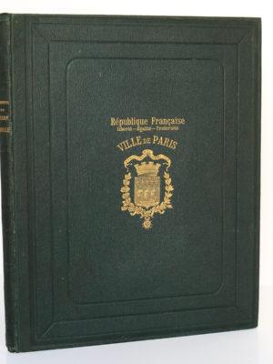 Monographie de l'École Braille à St-Mandé (Seine). Larousse 1899. Reliure.