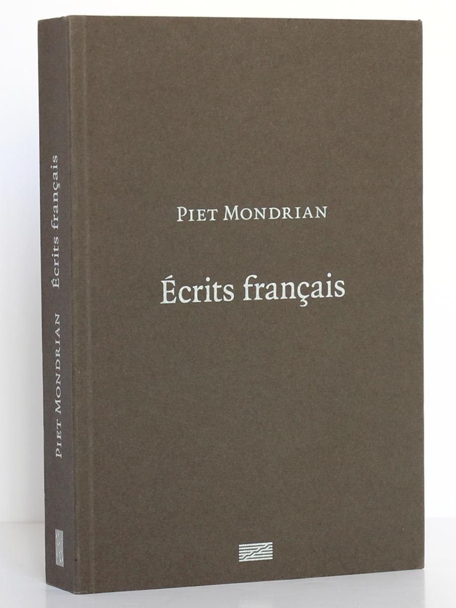 Écrits français, Piet Mondrian. Éditions du Centre Pompidou 2010. Couverture.