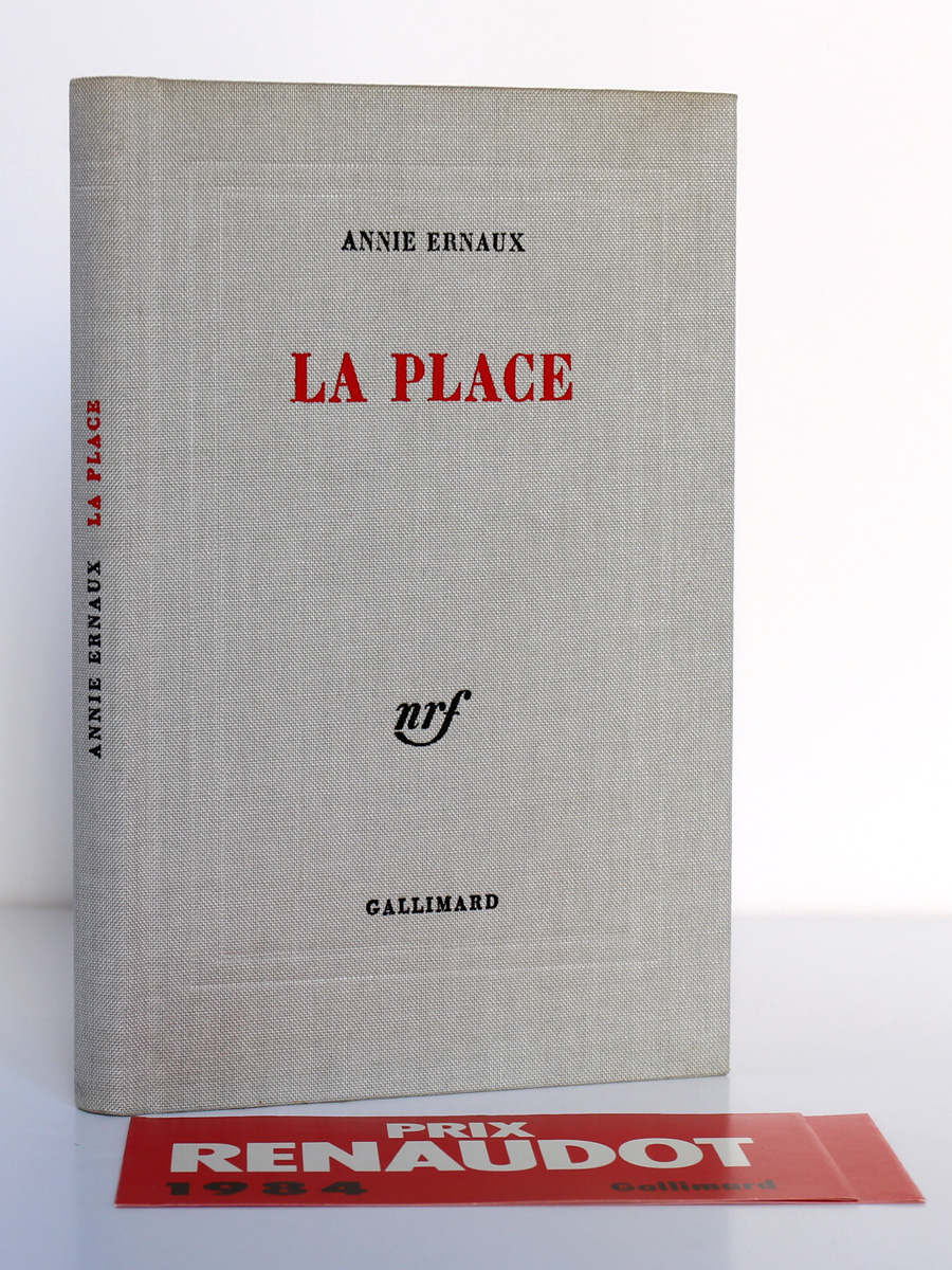 La Place, Annie Ernaux. Gallimard-nrf, 1984. Reliure.