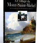 Le village du Mont-Saint-Michel, Daniel Leloup. Chasse-Marée 2004. Couverture.