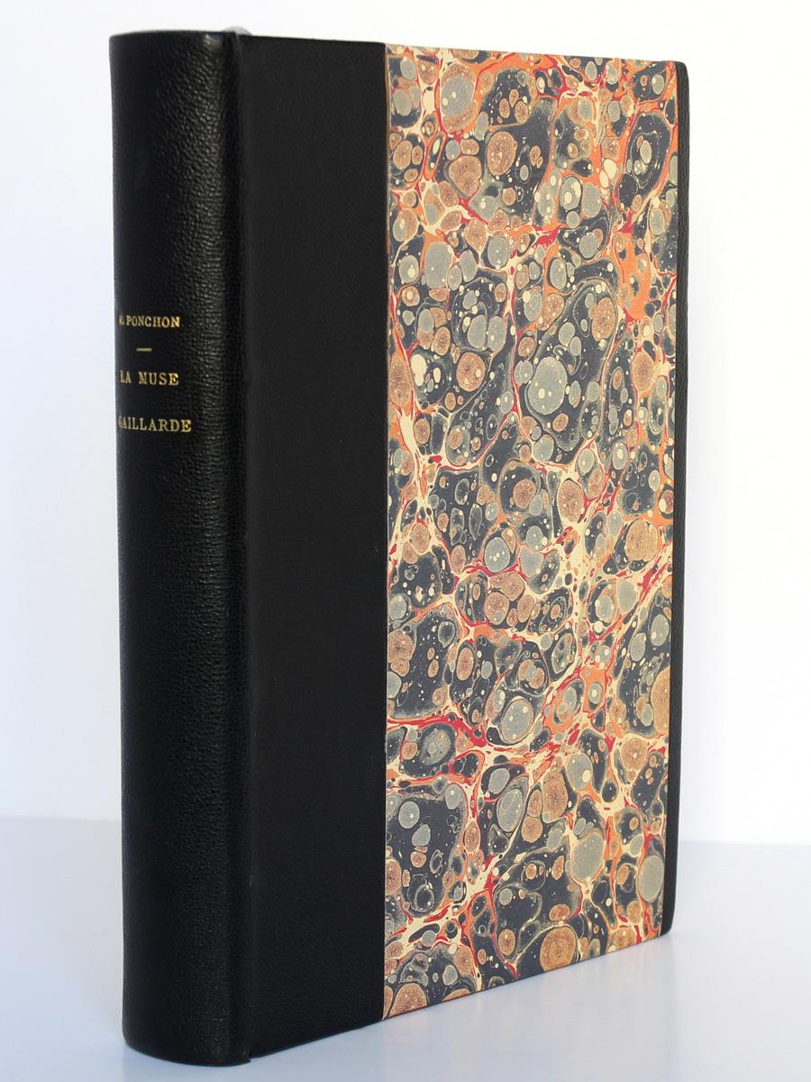 La Muse gaillarde, Raoul Ponchon. Illustrations de Dignimont. Aux Éditions Rieder, 1939. Reliure.