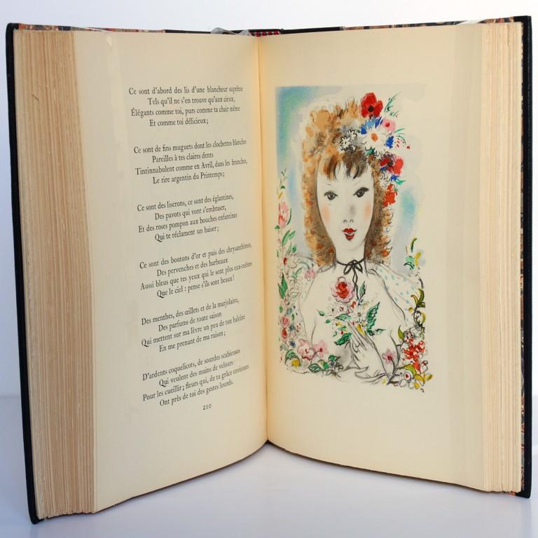 La Muse gaillarde, Raoul Ponchon. Illustrations de Dignimont. Aux Éditions Rieder, 1939. Pages intérieures.