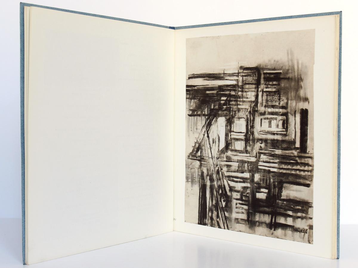 Vieira da Silva : les Irrésolutions résolues. Descartes. Michel Butor. Éditions Jeanne Bucher 1969. Pages intérieures.