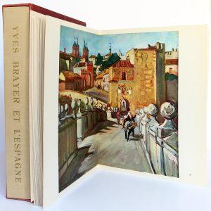 Yves Brayer et l'Espagne, introduction de Henry de Montherlant. Arthaud 1959. Pages intérieures 1.