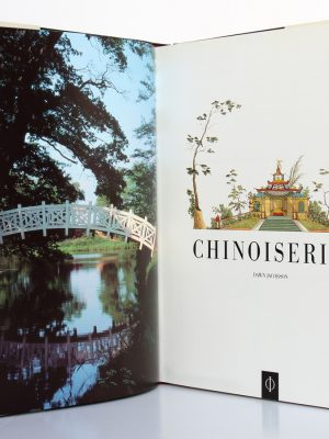 Chinoiseries. Dawn Jacobson. Phaidon 1993. Frontispice et page titre.