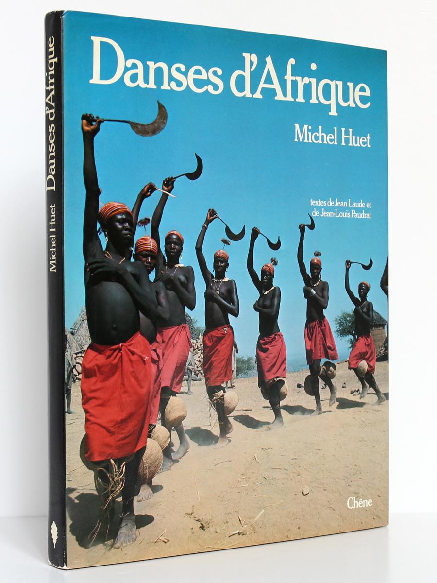 Danses d'Afrique Michel Huet. Chêne 1978. Couverture.