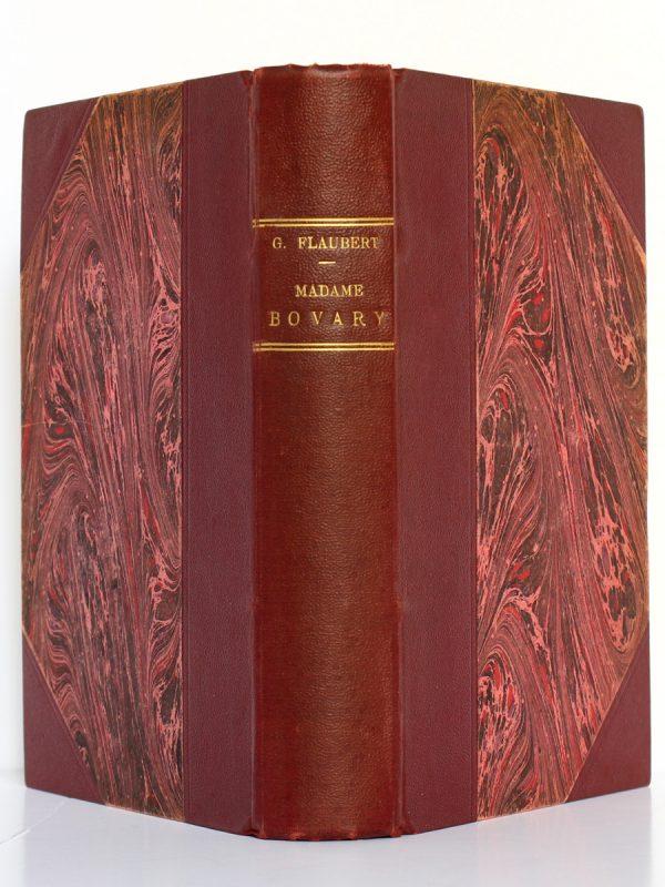 Madame Bovary. Gustave Flaubert. Eugène Fasquelle Éditeur 1928. Reliure : plats et dos.